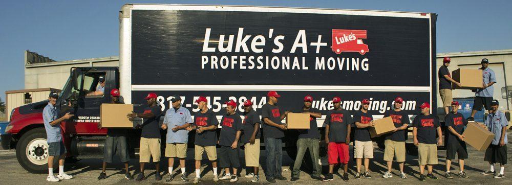 Luke's Moving Company in Hurst Euless Bedford