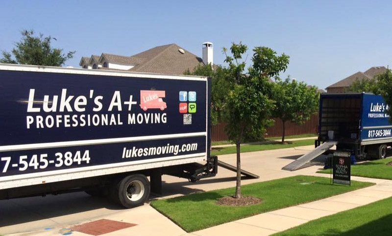 lukes moving company in colleyville tx