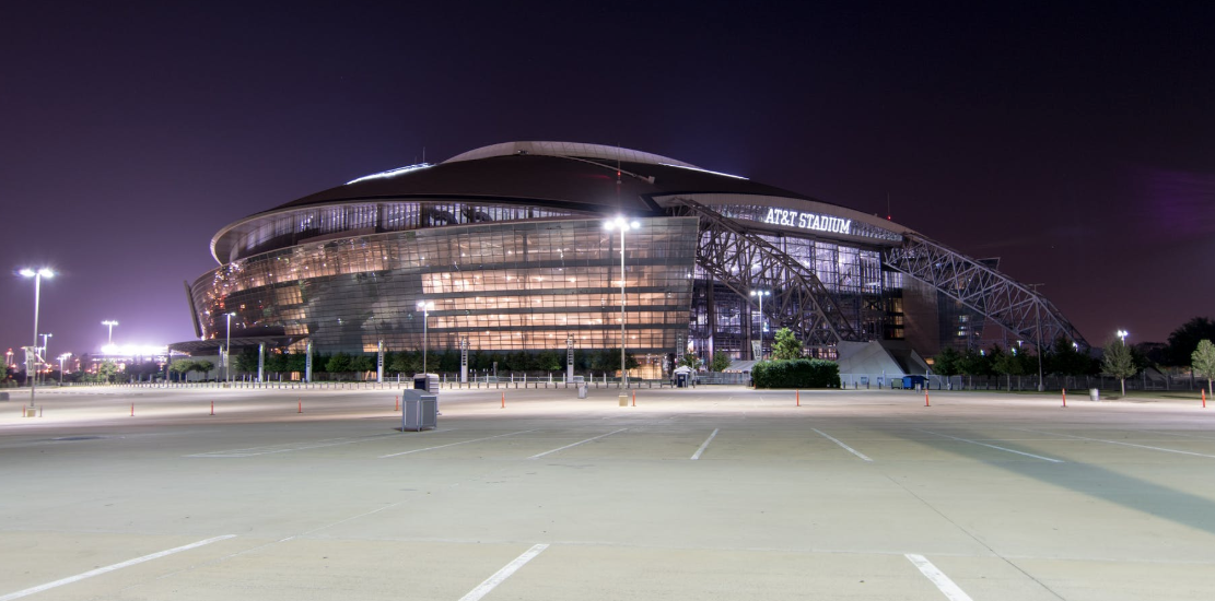 Photo of Cowboys Stadium Located in Arlington Texas