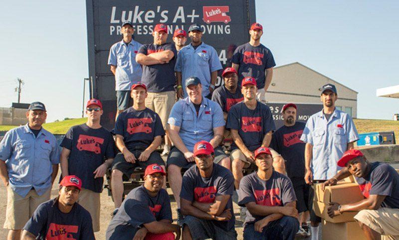 Photo of Luke's Prosper TX Moving Team