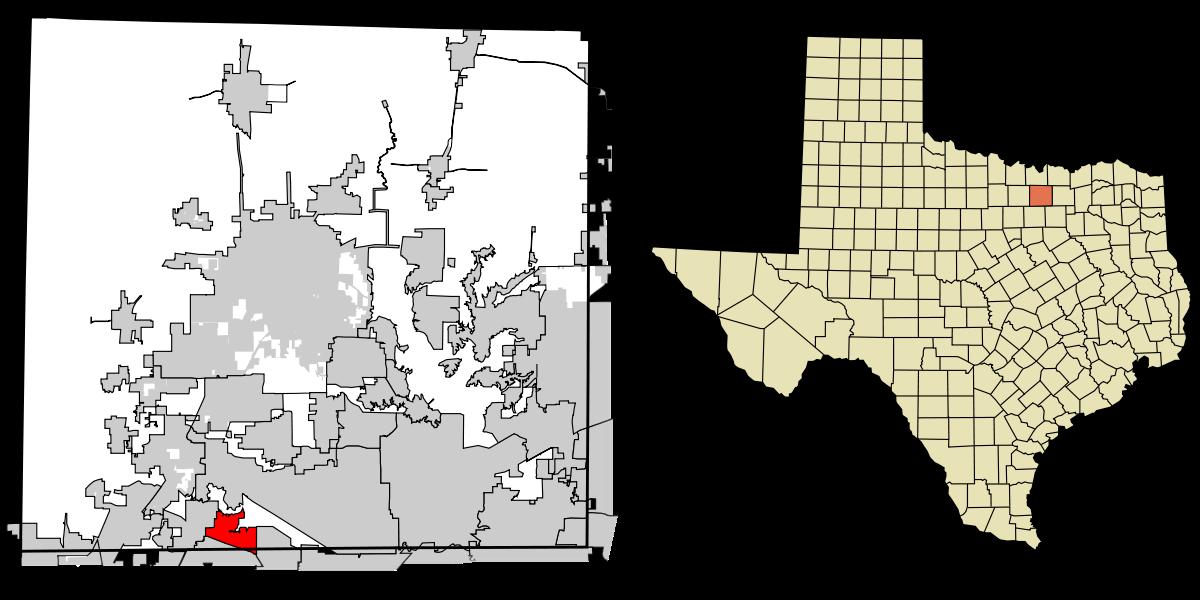Map of Trophy Club TX